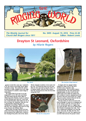 The Ringing World issue 5495