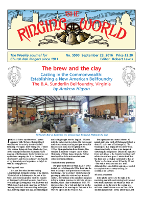 The Ringing World issue 5500