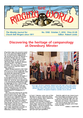 The Ringing World issue 5502