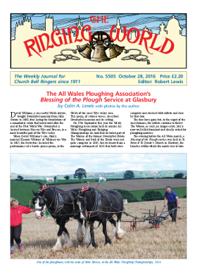 The Ringing World issue 5505