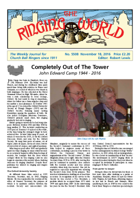 The Ringing World issue 5508