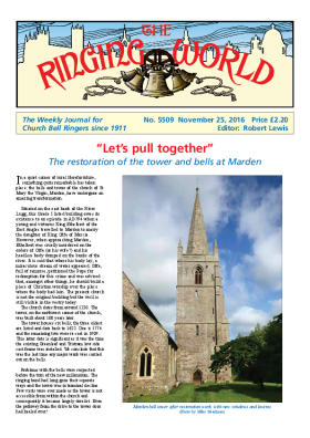 The Ringing World issue 5509