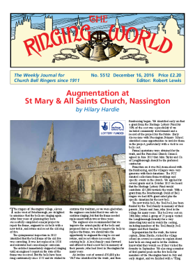 The Ringing World issue 5512