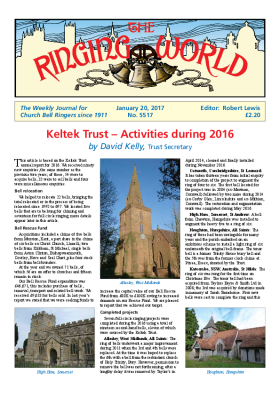 The Ringing World issue 5517