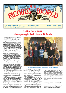 The Ringing World issue 5518