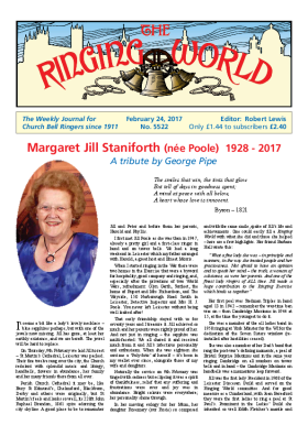 The Ringing World issue 5522