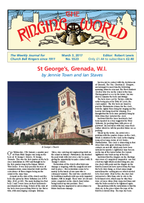 The Ringing World issue 5523