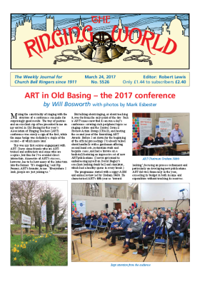 The Ringing World issue 5526
