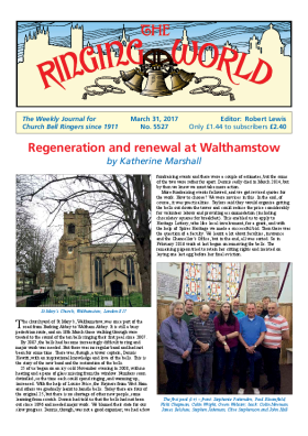 The Ringing World issue 5527