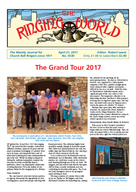 The Ringing World issue 5530