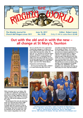 The Ringing World issue 5538