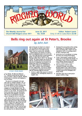 The Ringing World issue 5539
