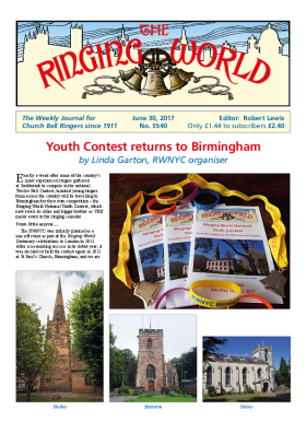 The Ringing World issue 5540