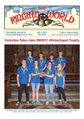 The Ringing World issue 5541
