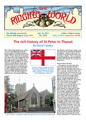 The Ringing World issue 5542