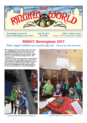 The Ringing World issue 5544