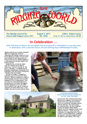 The Ringing World issue 5545