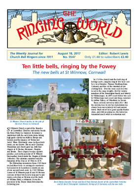 The Ringing World issue 5547