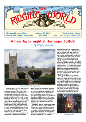 The Ringing World issue 5548