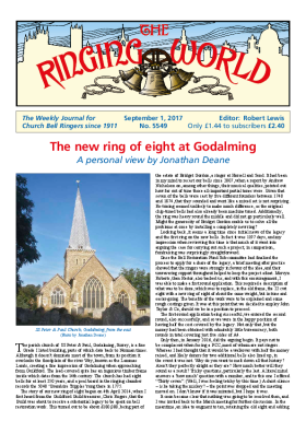 The Ringing World issue 5549