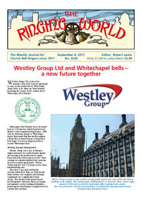 The Ringing World issue 5550