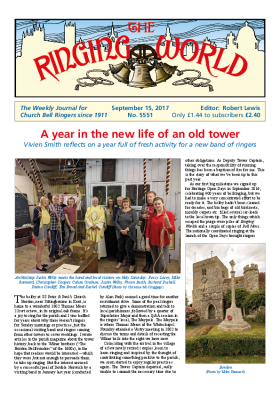 The Ringing World issue 5551