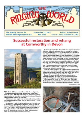 The Ringing World issue 5552