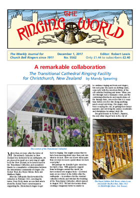 The Ringing World issue 5562