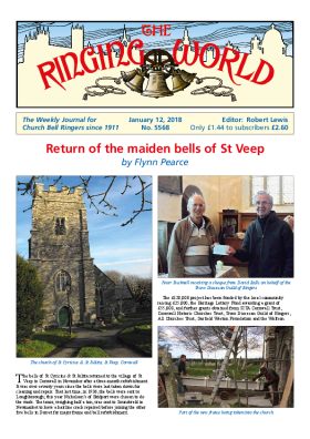 The Ringing World issue 5568