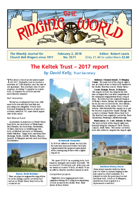 The Ringing World issue 5571