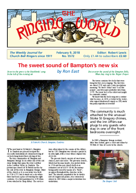 The Ringing World issue 5572