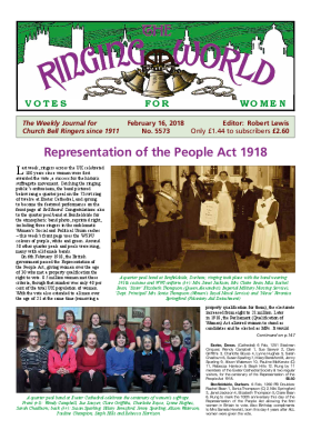 The Ringing World issue 5573