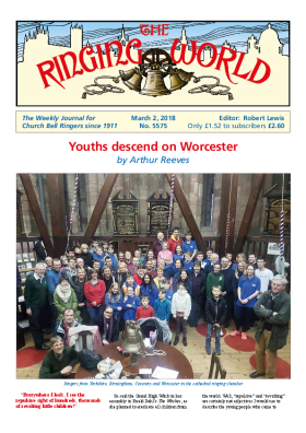 The Ringing World issue 5575