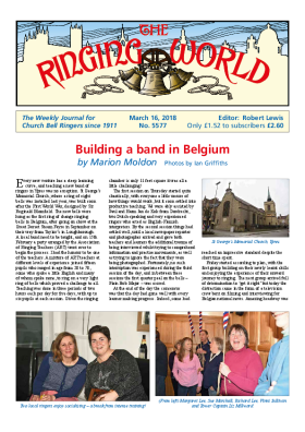 The Ringing World issue 5577