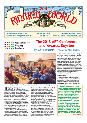 The Ringing World issue 5578