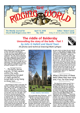 The Ringing World issue 5581
