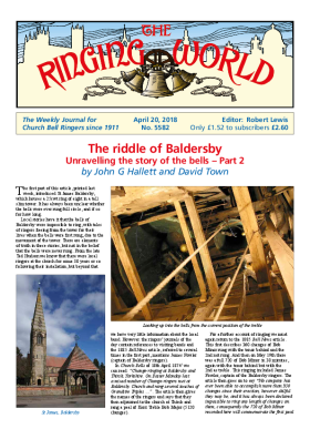 The Ringing World issue 5582