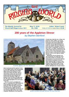 The Ringing World issue 5585