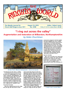The Ringing World issue 5598