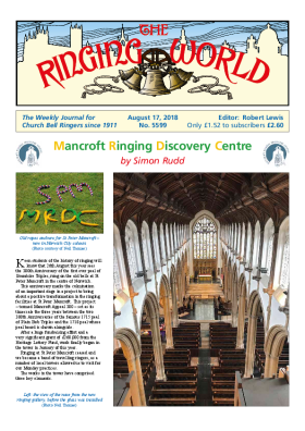 The Ringing World issue 5599