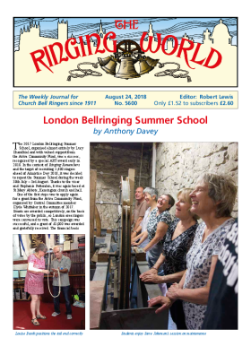 The Ringing World issue 5600