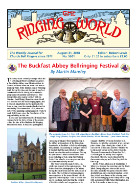 The Ringing World issue 5601