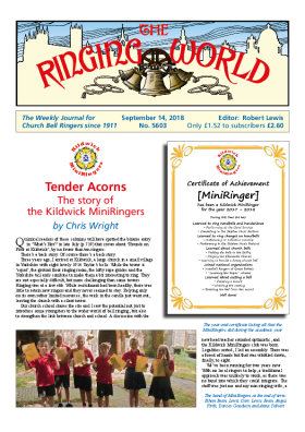 The Ringing World issue 5603