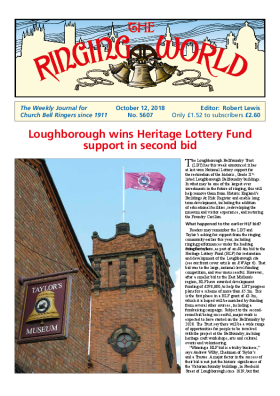 The Ringing World issue 5607