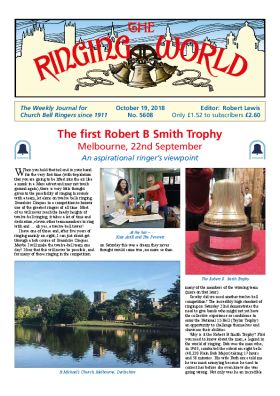 The Ringing World issue 5608