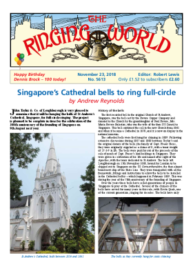 The Ringing World issue 5613