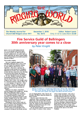 The Ringing World issue 5615