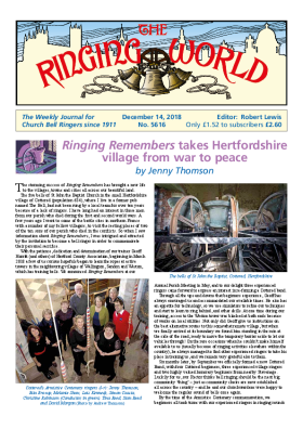The Ringing World issue 5616