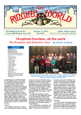 The Ringing World issue 5620