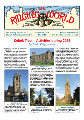 The Ringing World issue 5621
